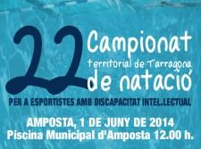 Xxii campionat territorial de nataci per a persones amb for Piscina amposta