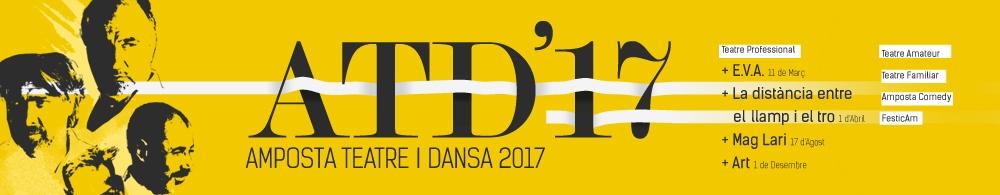 Amposta Teatre i Dansa. Programació 2017.