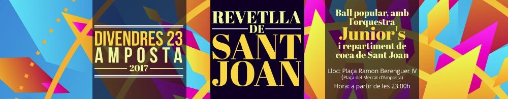 Revetlla de Sant Joan. Amposta 2017.