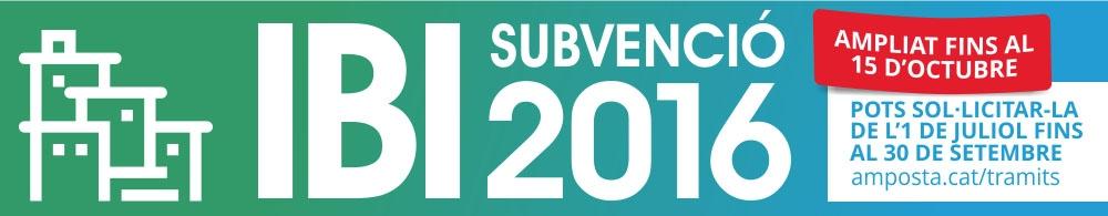 Sol�licitud de subvenci� a la quota tribut�ria d�IBI per habitatge habitual
