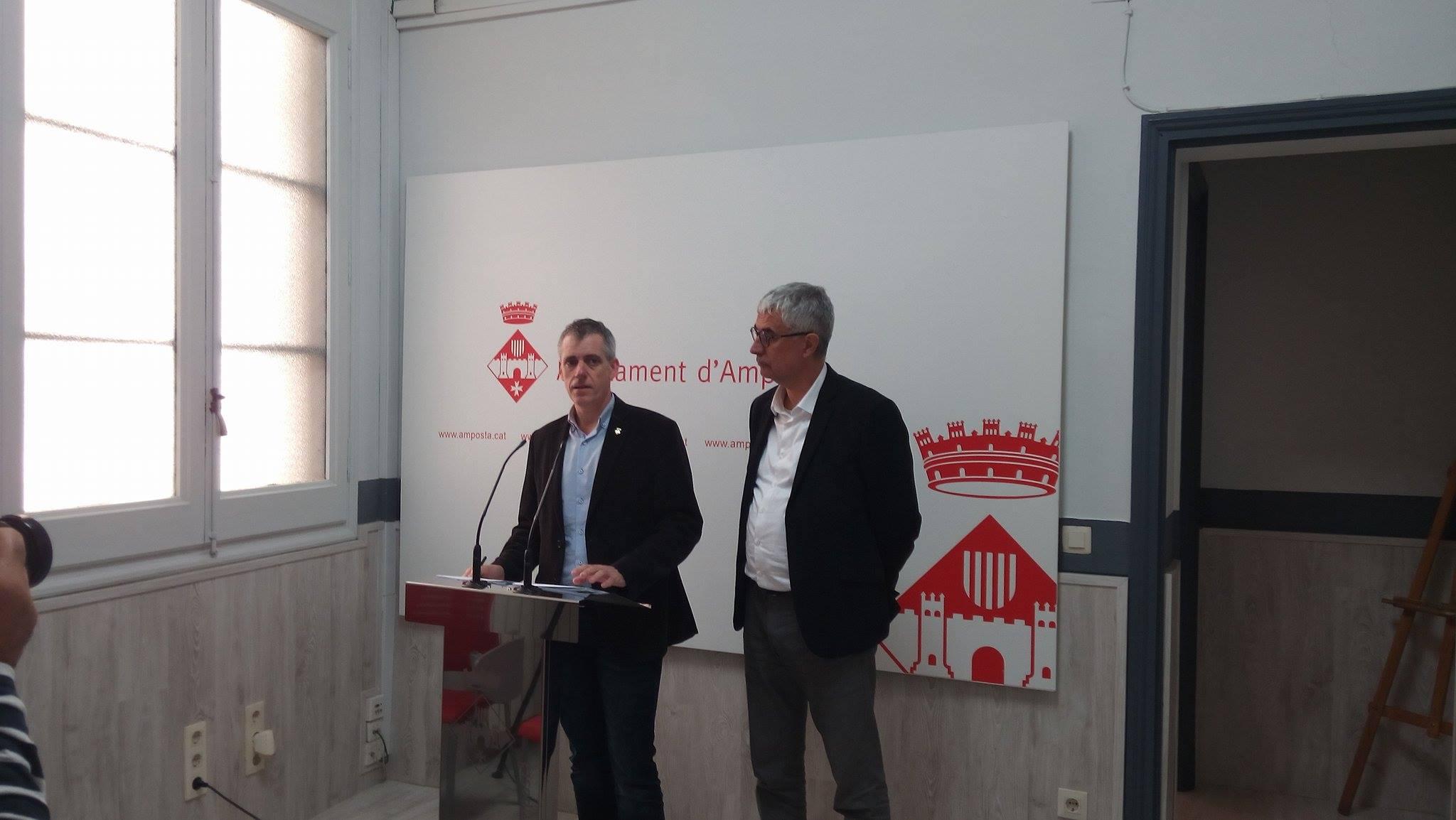 L'Ajuntament d'Amposta incorpora crèdits extraordinaris de 5,5 milions d'euros per a diferents inversions