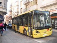 El bus urbà d'Amposta reajusta els horaris de les línies amb menys viatgers