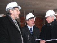 El Director General de Centres Públics visita les obres de l'Institut de Tecnificació