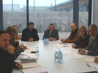 Reunió entre Ajuntament, Generalitat i federacions esportives prèvia a l'entrada en funcionament del nou institut del Centre de Tecnificació