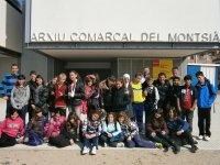 Visita a les instal·lacions de l'Arxiu Comarcal del Montsià, del curs de 6é de l'Escola Soriano Montagut d'Amposta.