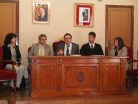 Visita a Amposta del Director General de Joventut Toni Reig