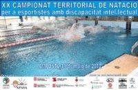 XX Campionat Territorial de Natació per a persones amb Discapacitat intel.lectual