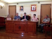L'Ajuntament d'Amposta signa l'aportació anual a les entitats musicals