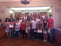 Els alumnes del programa SUMA'T reben els certificats