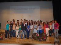 Els alumnes del programa emprenedors a les escoles presenten els seus projectes
