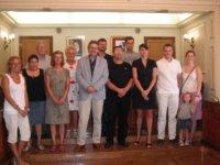 L'ajuntament d'Amposta signa el conveni amb la Federació d'Amposta d'Associacions de Veïns
