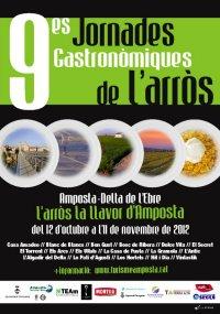 Les Jornades de l'Arròs d'Amposta centren el calendari gastronòmic de l'inici de tardor