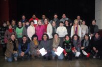 ACTE DE CLAUSURA DE L'AULA ACTIVA. ENTREGA DELS DIPLOMES DELS CURSOS REALITZATS AQUEST ANY 2012.