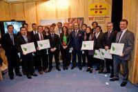 Amposta rep a Fitur el reconeixement del Destinació de Turisme Esportiu en un acte amb els altres municipis certificats