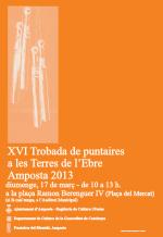 XVI Trobada de Puntaires del Montsià