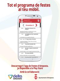 Les Festes Majors d'Amposta tenen la seva pròpia aplicació per a telèfons mòbils
