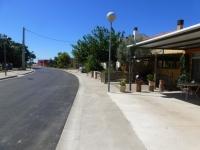 Finalitzen les obres d'asfaltat del barri de Balada