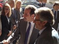 Ajuntament i Departament d'Interior signen un conveni d'atenció a les víctimes d'accident de trànsit