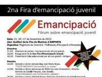 II Fira d'Emancipació Juvenil de l'Ajuntament d'Amposta