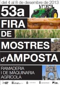 Amposta enllesteix la 53a edició de Fira Amposta complint les previsions d'expositors i esperant mantenir l'afluència de públic
