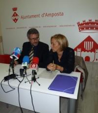 L'equip de govern d'Amposta presenta un pressupost 1 milió d'euros superior al de l'any passat