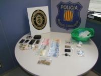 Desarticulen un punt de venda de droga en un domicili del Montsià