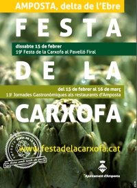 19ena FESTA DE LA CARXOFA. Dissabte 15 de febrer de 2014
