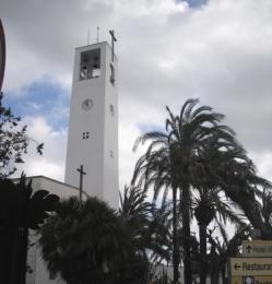 Finalitzen les obres de rehabilitació i restauració del campanar del Poble Nou