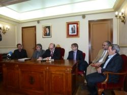 El rector de la Universitat Rovira i Virgili de visita oficial a Amposta per visitar el centre universitari