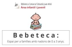 BEBETECA. Espai per a famílies amb nadons de 0 a 3 anys