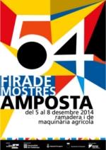 Amposta enllesteix la 54a edició de Fira Amposta
