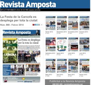 La Revista Amposta estrena edici� en l�nia d�acc�s gratu�t