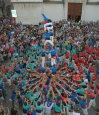 Els mitjans de comunicació locals atorguen el Premi Amposta 2013 a la colla castellera Xiqüelos i Xiqüeles del Delta