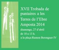 XVII TROBADA DE PUNTAIRES A LES TERRES DE L´EBRE