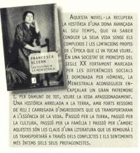 Presentació del llibre Les passions de la menestrala, de Francesca Aliern