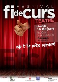 Festival Fi de Curs de l´Escola de Teatre i Circ d´Amposta