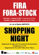 FIRA FORA-STOCK / SHOPPING NIGHT