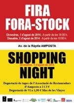 FIRA FORA-STOCK / SHOPPING NIGHT