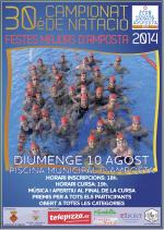 30è CAMPIONAT DE NATACIÓ FESTES MAJORS AMPOSTA 2014