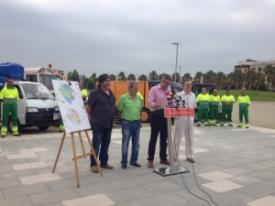 L'Ajuntament d'Amposta amplia el servei de neteja viària de la ciutat