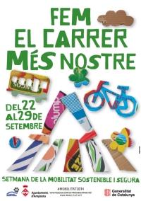 Amposta celebra la Setmana de la Mobilitat Sostenible i Segura amb activitats a les escoles i una caminada saludable