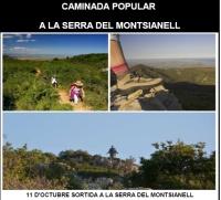 Caminada popular a la serra del Montsianell