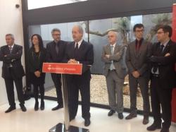El conseller d'Empresa i Ocupació i l'alcalde d'Amposta inauguren el centre d'investigació CETECOM