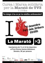 El 14 de desembre fes bategar el teu cor a favor de les malalties cardiovasculars!!!