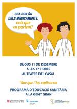 """Xerrada: """"DEL BON ÚS DELS MEDICAMENTS, VOLS QUE EN PARLEM?"""""""