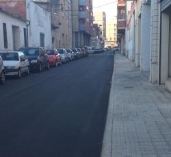 Amposta reasfalta més de 10.000 metres quadrats de carrers