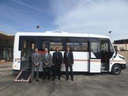 El servei urb� de transport p�blic d�Amposta incorpora un nou autob�s