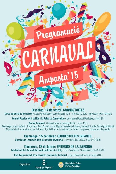 Ajuntament d´Amposta > informació oficial > CARNESTOLTES 2015