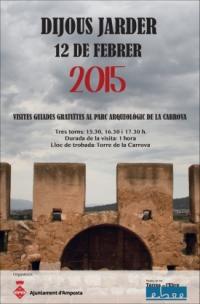Visites guiades gratuïtes al Parc Arqueològic de la Carrova