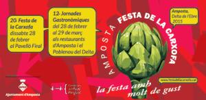 Programa de la 20a Festa de la carxofa